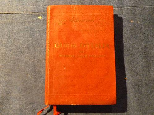 L. V. Bertarelli  - Guida D'Italia - secondo volume - 1916