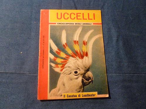 Enciclopedia degli animali - uccelli - 1962
