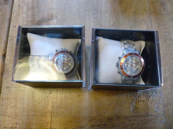 Coppia orologi al quarzo