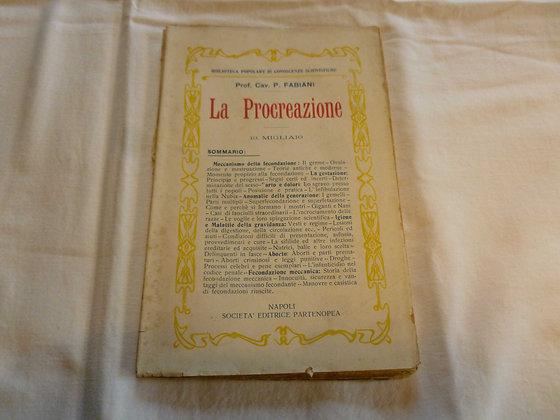 P. Fabiani - La procreazione - 1900