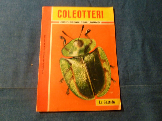 Enciclopedia degi animali - coleotteri - 1962