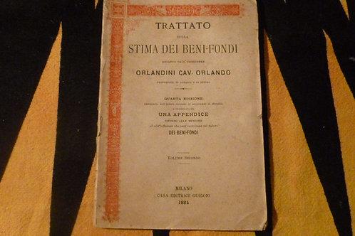 O. Orlandini -Trattato sulla stima dei beni-fondi - Volume secondo - 1884