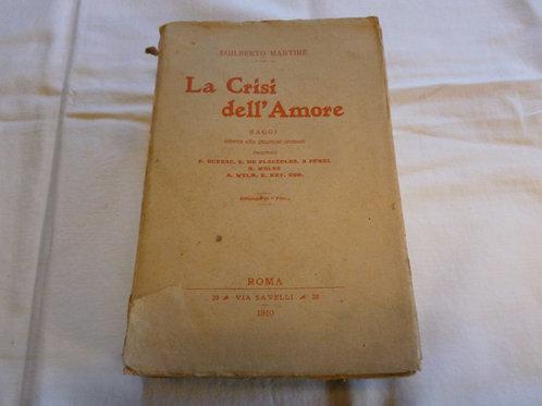 E. Martire - La crisi dell'amore - 1910