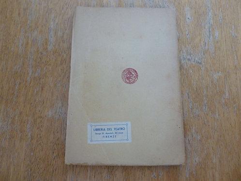 C. Goldoni - La bottega del caffè - (1920/1930?)