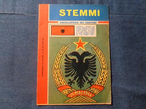 Enciclopedia dei costumi - stemmi - 1962