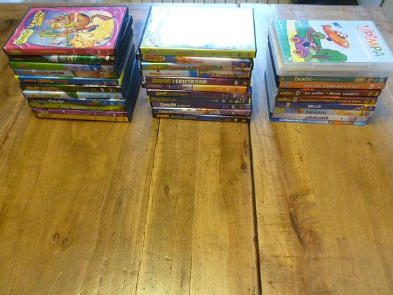 Stock 32 dvd per bambini e ragazzi