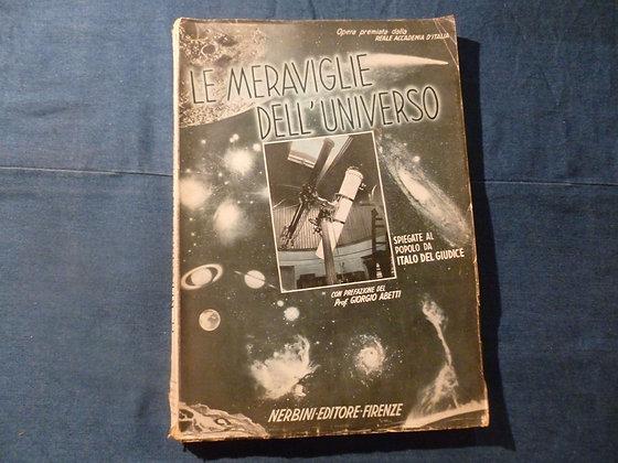 I. Del Giudice - Le meraviglie dell'universo - 1939