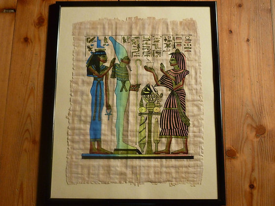 Dipinti egiziani su papiro