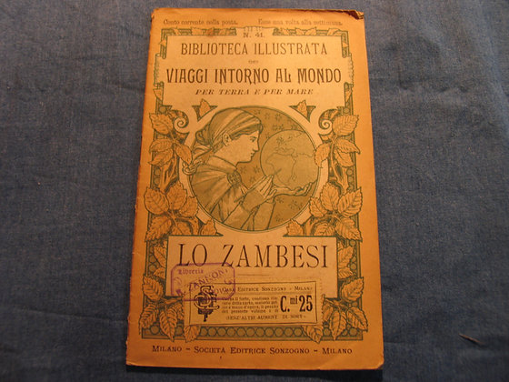 Paolo Guyot  - Lo Zambesi - 1899