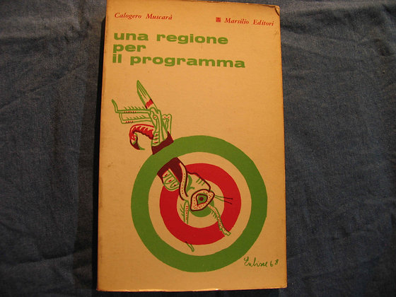 Calogero Muscarà - Una regione per il programma - 1968