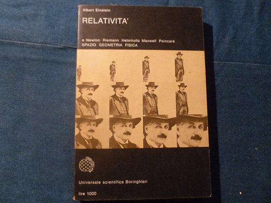 A. Einstein - Relatività - 1967