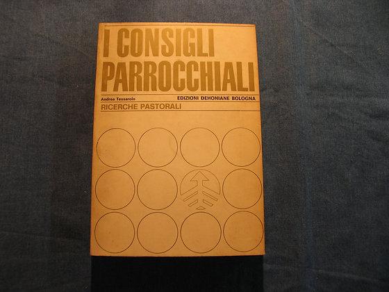 Andrea Tassarolo - I consigli parrocchiali - 1969