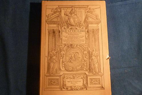 I quattro libri dell'architettura del Palladio - Hoepli - 1990