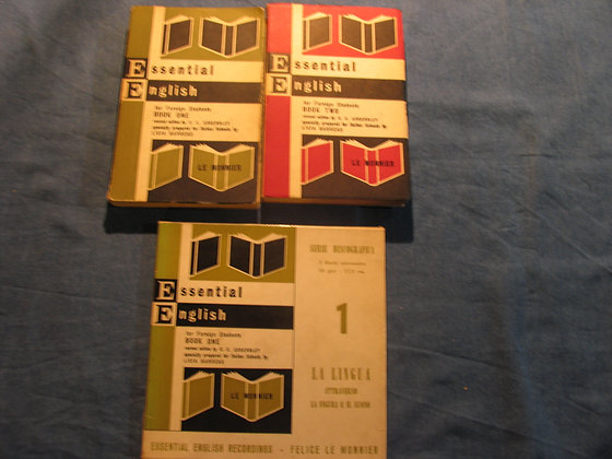 C.E. Eckersley - Essential English for foreign students - 1968
