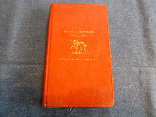 AA.VV. - Materia Therapeutica - 1910/1920