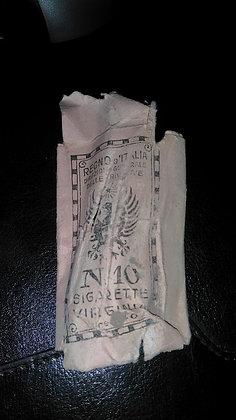 Pacchetto sigarette virginia Regno d'Italia anni '20
