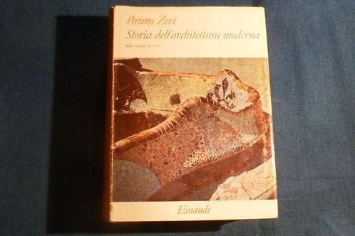 Bruno Zevi - Storia dell'architettura moderna - 1961