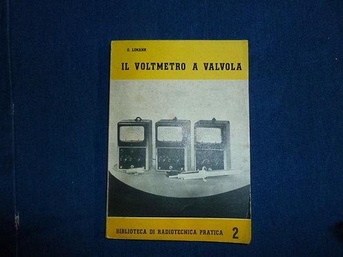 Otto Limann - Il voltmetro a valvola - 1957