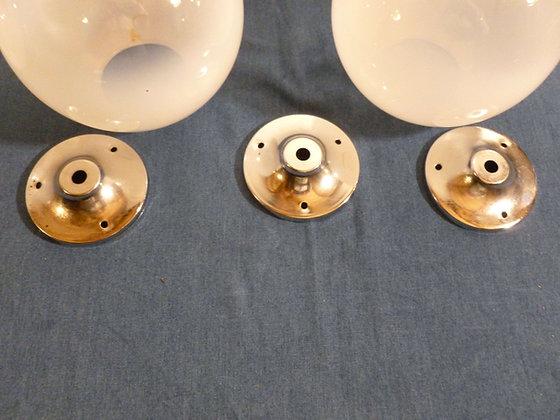 Set di 3 sfere in vetro per lampadario