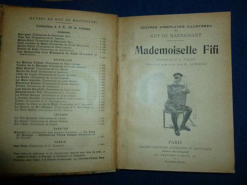 Guy de maupassant - Mademoiselle Fifi (1900-1910)