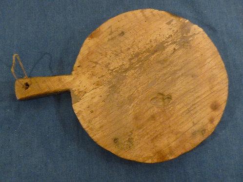 Antico tagliere in legno di pioppo