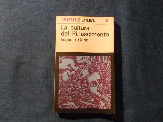 E. Garin - La cultura del Rinascimento