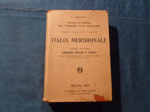 Guida d'Italia - Italia meridionale - 1926 / 1927 - 2 volumi