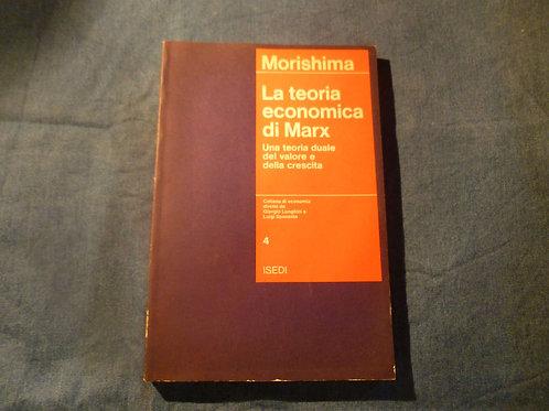 M. Morishima - La teoria economica di Marx - 1974