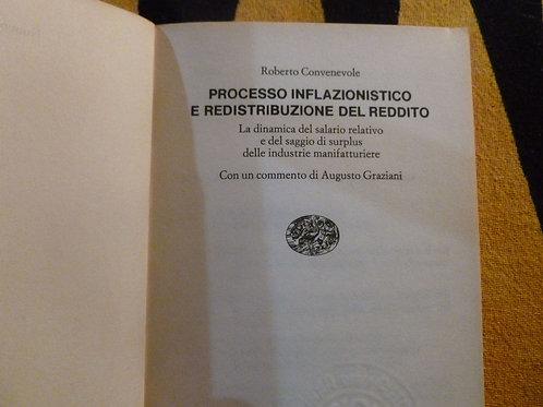 Convenevole - Processo inflazionistico e redistribuzione del reddito - 1977