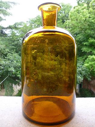 Bottiglione chimico in vetro metà Ottocento