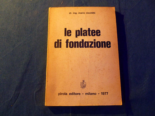 Cicchitti Mario - Le platee di fondazione - 1977