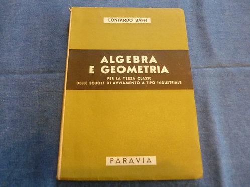 C. Baffi - Algebra e Geometria - 1958