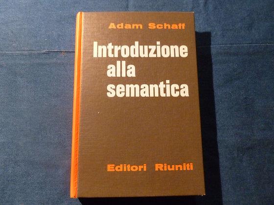 A. Schaff - Introduzione alla semantica - 1965