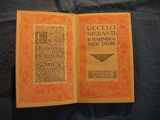 Rabin Dranath Tagore - Uccelli Migranti - 1918