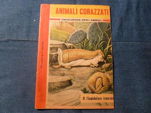 Enciclopedia degli animali - animali corazzati - 1962