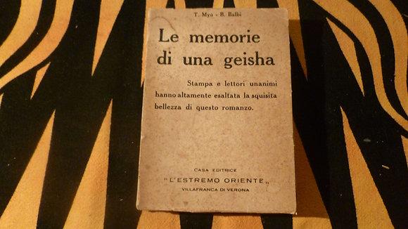 T. Myu - B. Balbi - Le memorie di una geisha - 1932