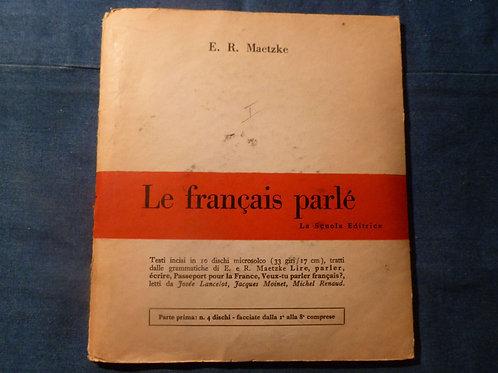 Le français parlé - 1962