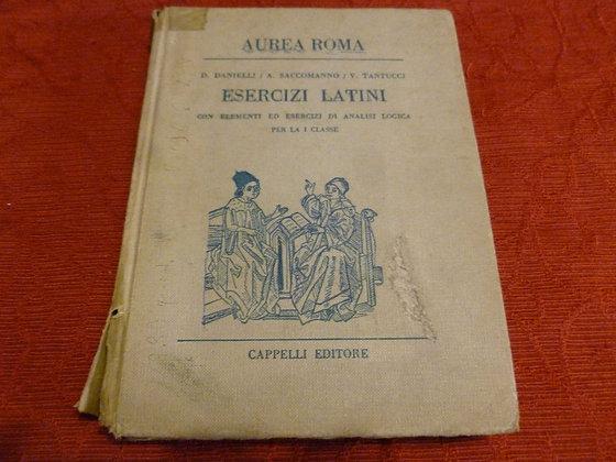 AA.VV. - Esercizi latini - 1960