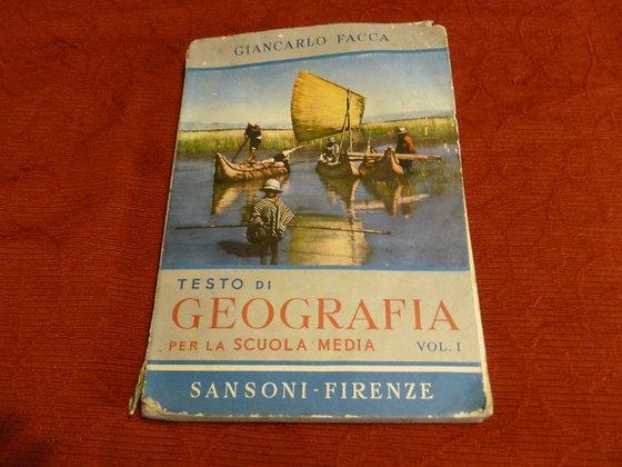 G. Facca - Geografia - 1955