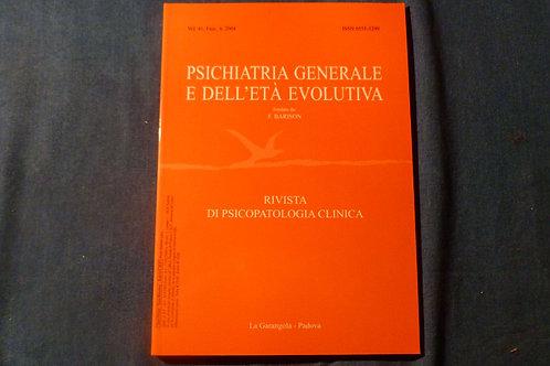 F. Barison - Psichiatria generale e dell'età evolutiva - 1997/2004