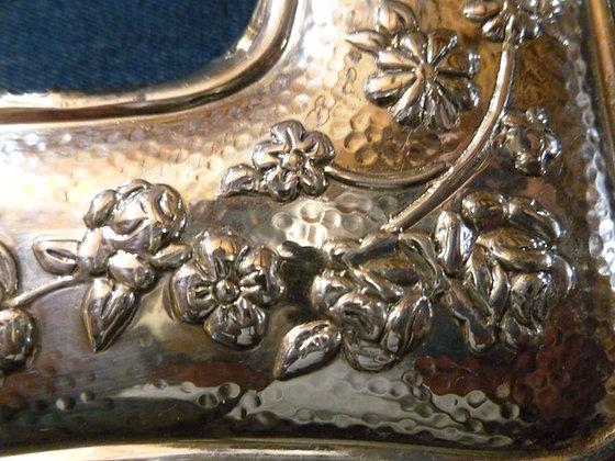 Cornice argentata 21 x26 cm