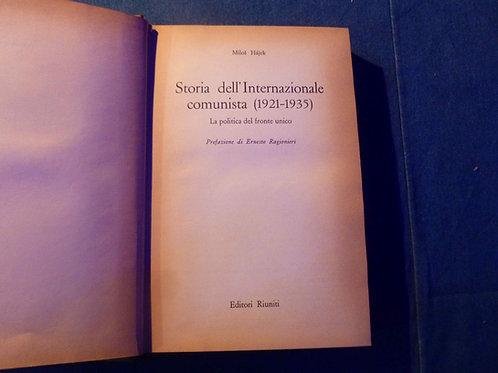 MIlos Hajek - Storia dell'internazionale comunista - 1969