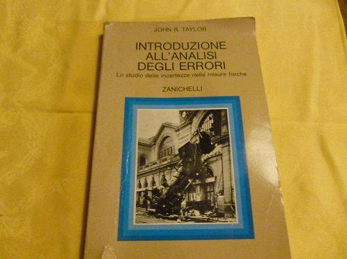J. Taylor - Introduzione all'analisi degli errori - 1990