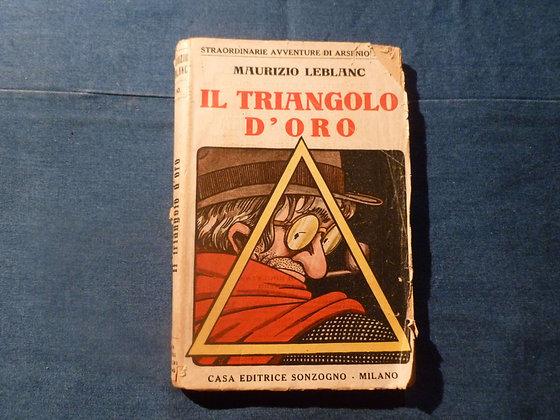 M. Leblanc -Il triangolo d'oro - 1920