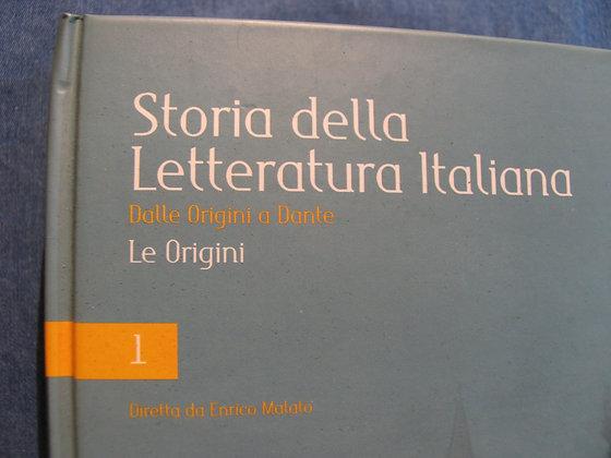 Enrico Malato - Storia della letteratura italiana Vol. 1 - Le origini