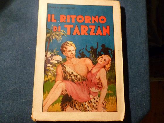 E. R. Burroughs - Il ritorno di Tarzan - 1935