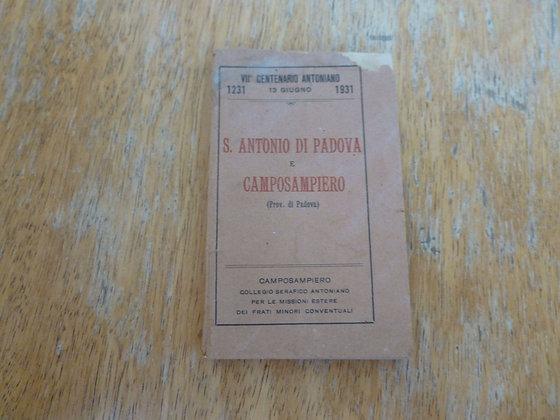 S. Antonio di Padova e Camposampiero - 1929