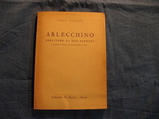 Carlo Goldoni - Arlecchino servitore di due padroni - 1953