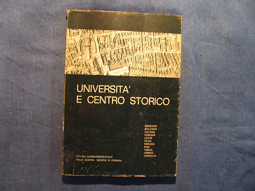 AA. VV. - Università e centro storico - 1973