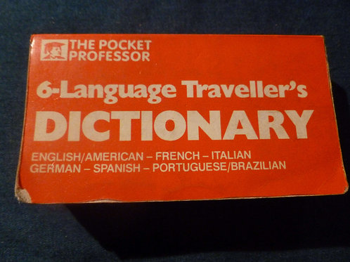 6 - Language Traveller's Dictionary -1984
